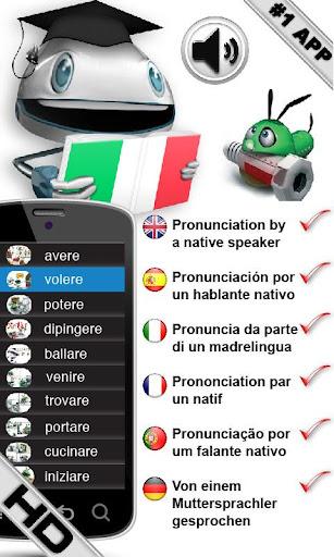 FREE 学习意大利语动词