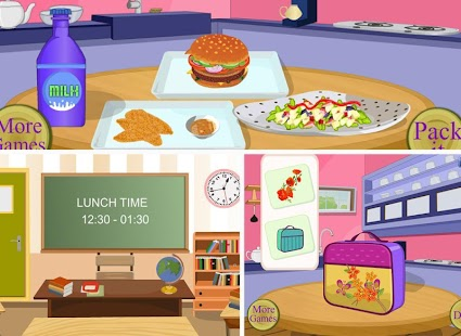 School Lunch - Food Maker- screenshot thumbnail