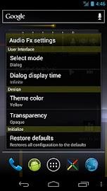 Audio Fx Widget Screenshot 5