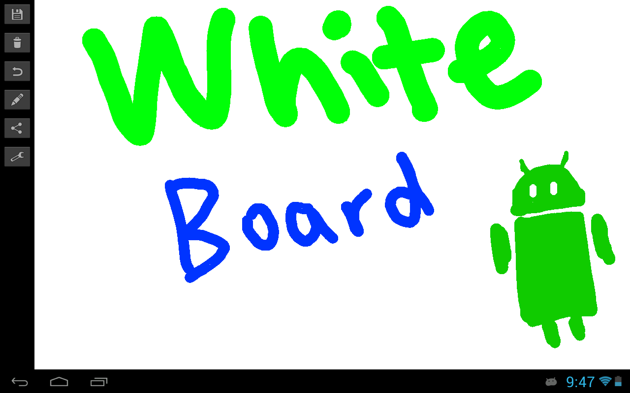 Whiteboard - screenshot