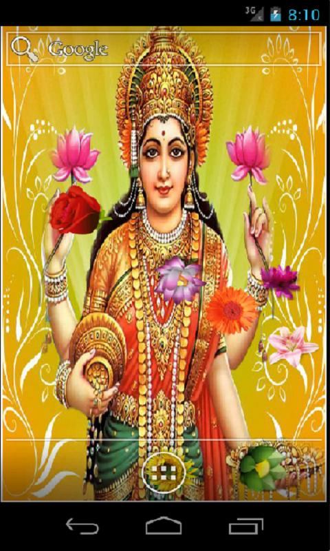 Goddess Lakshmi HD LWP- screenshot