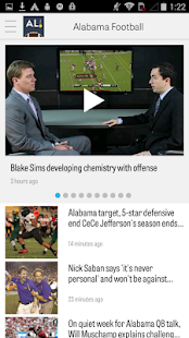 AL.com: Alabama Football News - screenshot thumbnail