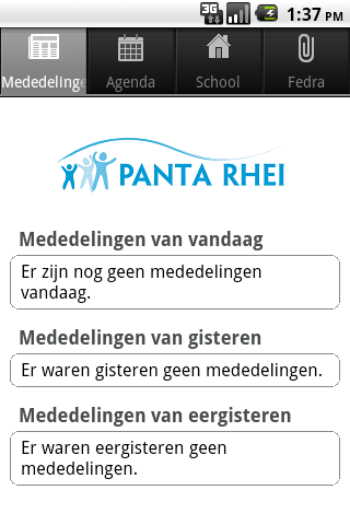 De Panta Rhei- screenshot