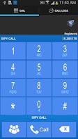 Screenshot of SIPY CALL 2