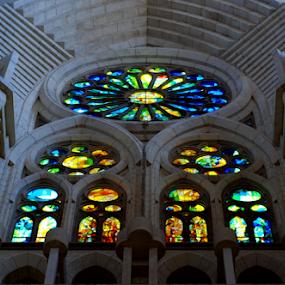 by Oleg Verjovkin - Buildings & Architecture Architectural Detail ( catalonia, window, barcelona )