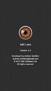 ABC Lens screenshot