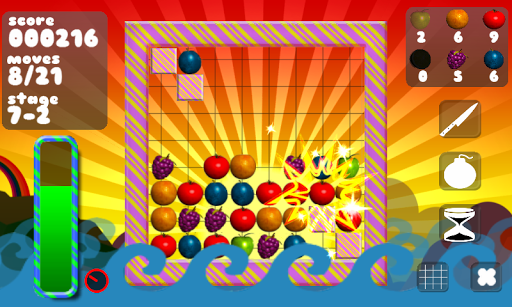 Spinning Fruits