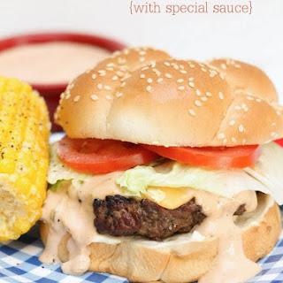 Ranch Burgers with secret sauce.