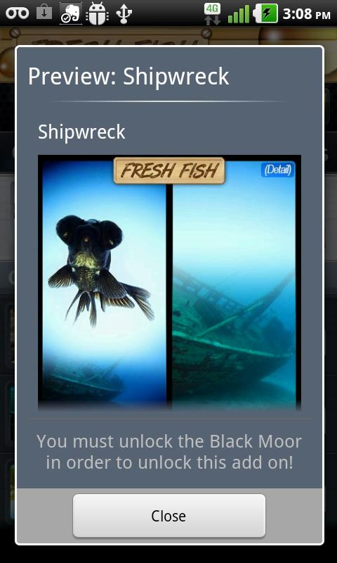 Fresh Fish Live Wallpaper - screenshot