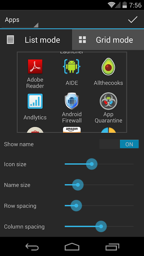 Snype - App & Contact Launcher- screenshot