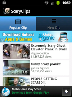 Scary Clips - screenshot thumbnail