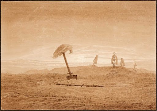 Landscape with Graves, c. 1835-1837