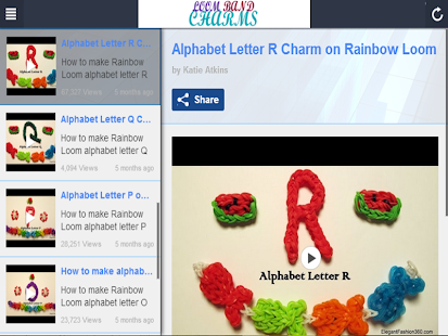 玩免費娛樂APP|下載Rainbow Loom Bands Charm Maker app不用錢|硬是要APP