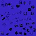 Blue Junk ADW icon