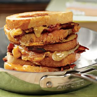 Bacon Grilled Cheese Sandwich.