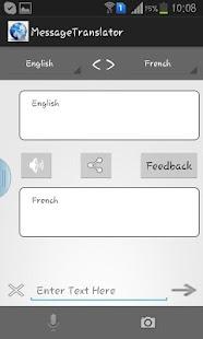 Message Translator screenshot