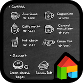 cafe menu board dodol theme