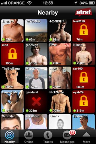 Atraf - Gay & Straight Dating - screenshot