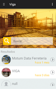 Viga App screenshot 1