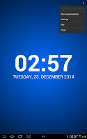 Screenshot of Speaking Clock: TellMeTheTime