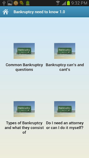 Bankruptcy need to know 1.0