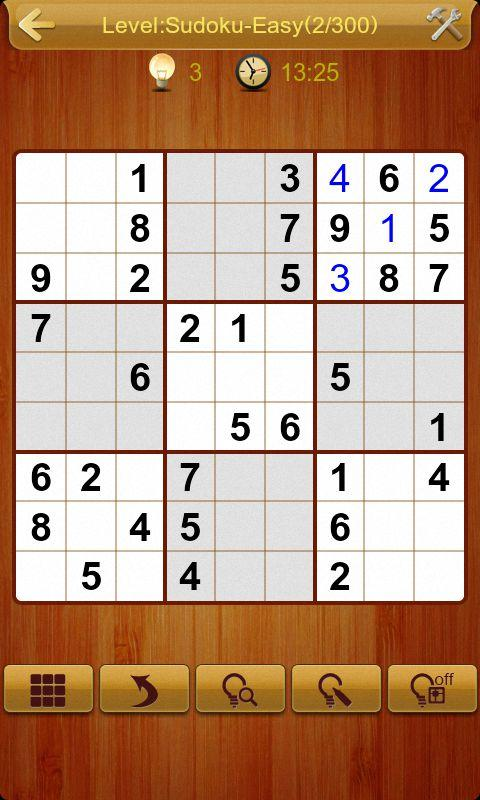Sudoku II- screenshot