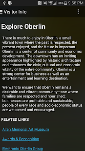 The Official App of Oberlin OH- screenshot thumbnail