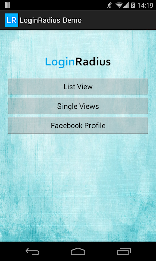 Social login by LoginRadius