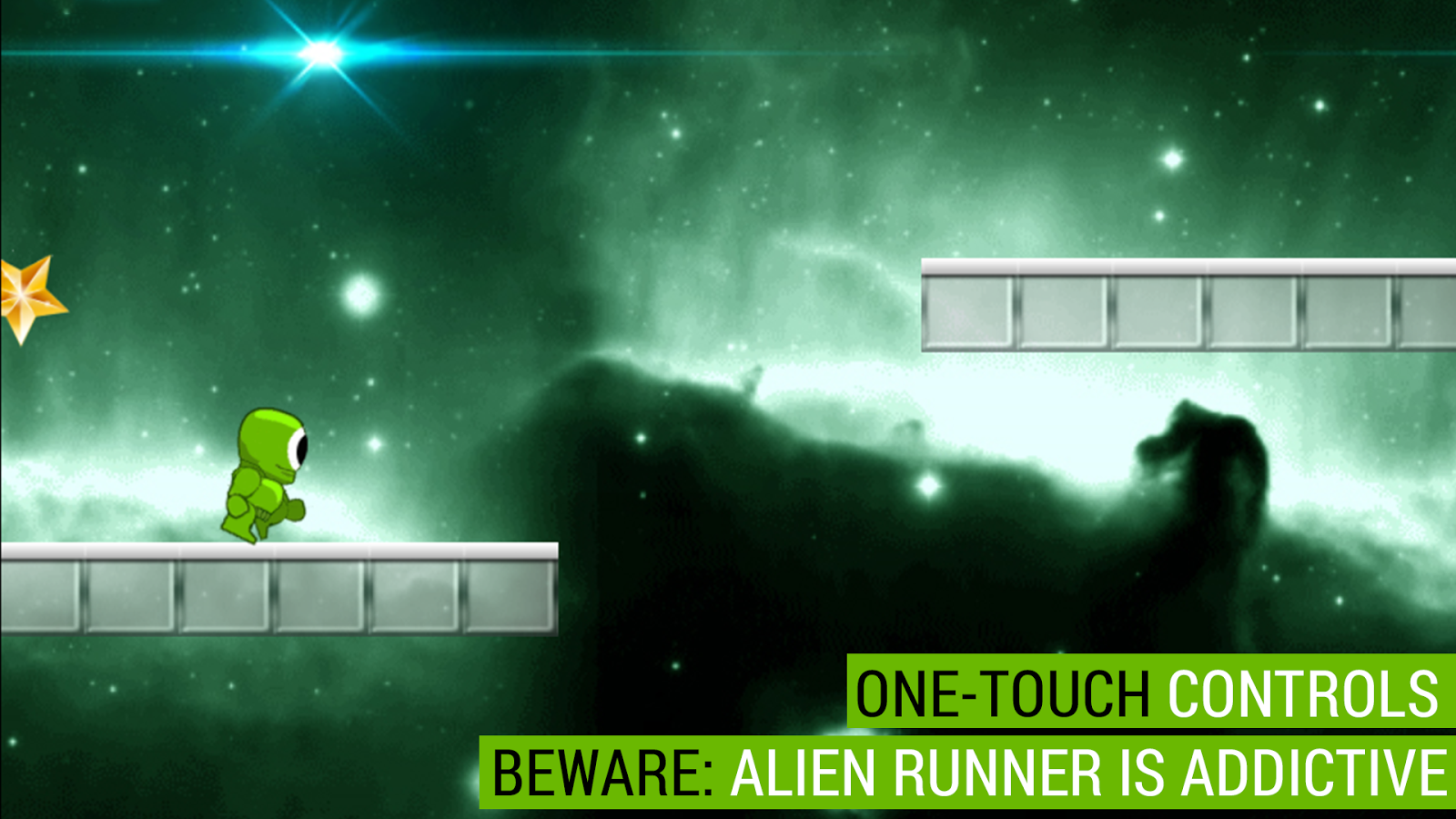 Alien Runner- screenshot