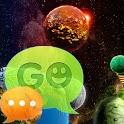GO SMS тему Космос icon