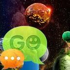 GO SMS Theme Cosmos