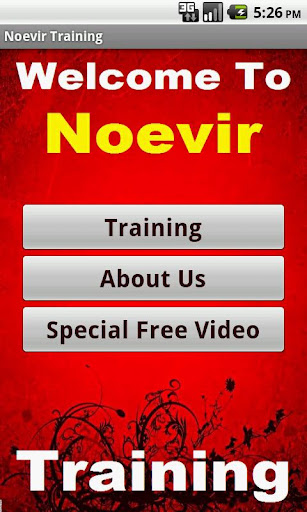 Noevir Training