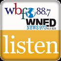 WBFO Listen Live logo