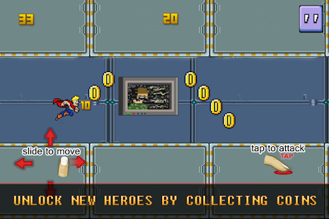 Super Hero Rush- screenshot thumbnail