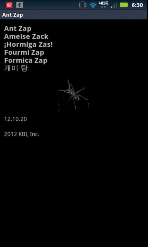 Ant Zap HD - screenshot