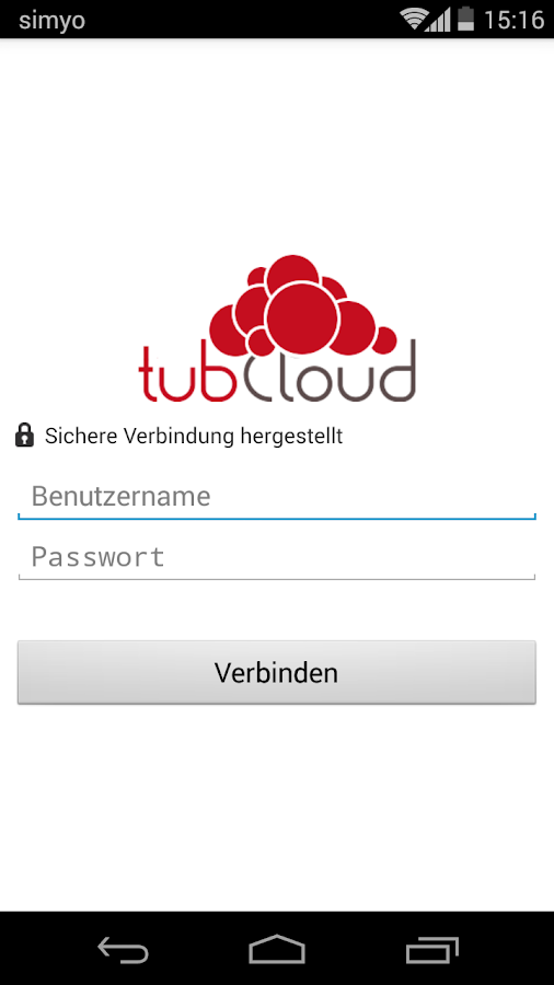 tubCloud- screenshot