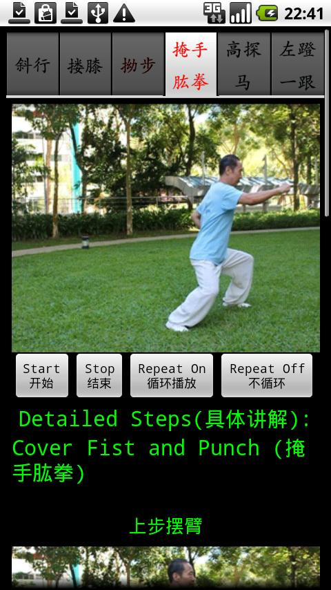 Chen TaiChi18-2 陈氏十八式太极拳2- screenshot