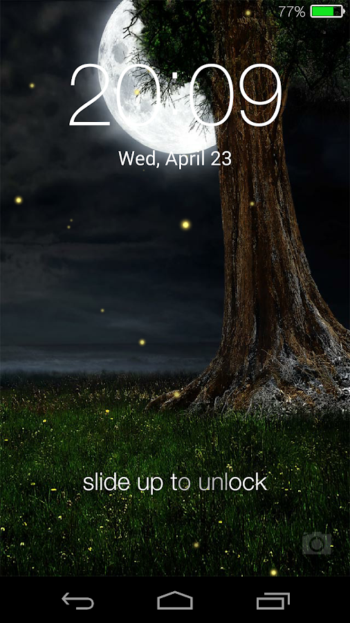 Fireflies Lockscreen Android Apps On Google Play