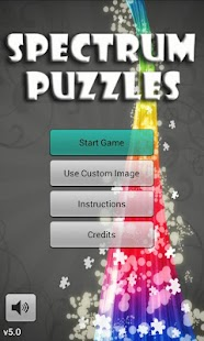 Spectrum Puzzles- screenshot thumbnail