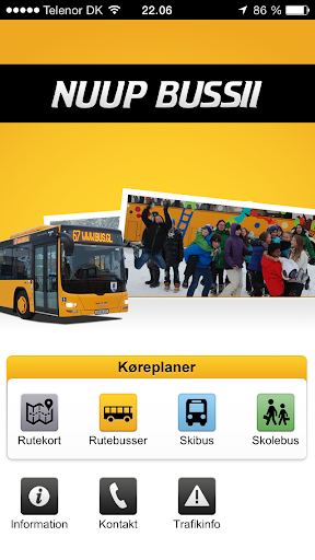 Nuup Bussii App