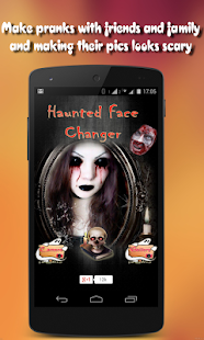 Haunted Face Changer & Halloween Makeup - náhled