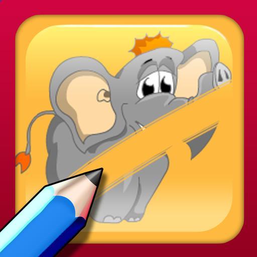 動物刮開為孩子 休閒 App LOGO-APP試玩