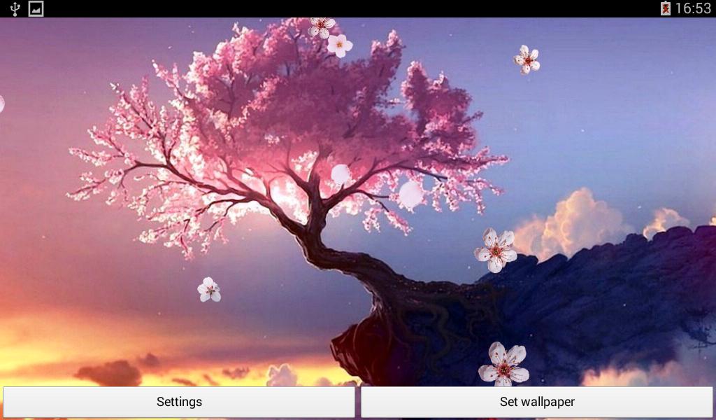Wallpaper japanische kirschblüten  Sakura Live Hintergrund – Android-Apps auf Google Play