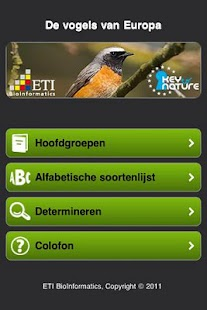 Vogels van Europa - screenshot thumbnail