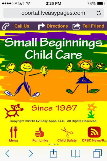 Small Beginnings Daycare