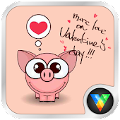 Cartoon Pig Live Wallpaper