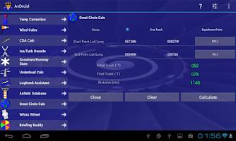 Screenshot of AvDroid Free