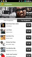 Screenshot of Sprint Music Plus