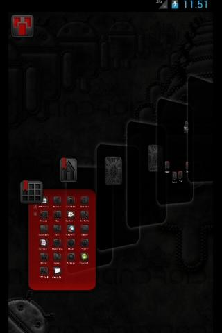 玩個人化App|TSFShell主題黑色的Android免費|APP試玩
