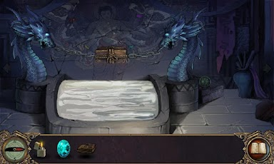 tomb-escape-dragon-statue